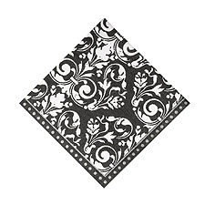 Formal Affair Damask Cocktail Napkin