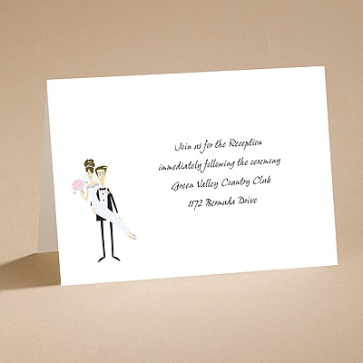 Runway - Reception Card