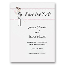 Runway - Save the Date Card