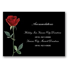 Rose Red - Accommodations Card