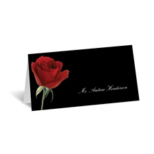 Rose Red - Place Card