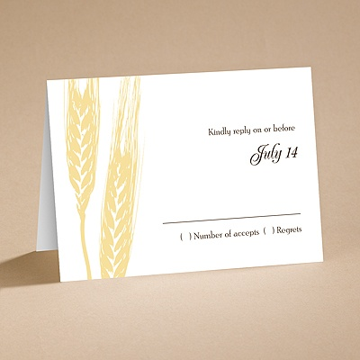 Bountiful Harvest - Respond Folder and Envelope