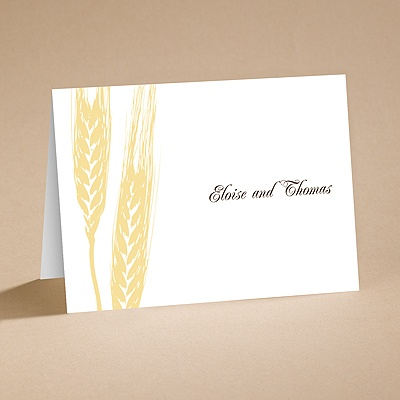 Bountiful Harvest - Note Folder and Envelope