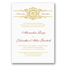 Rescued by Romance Invitation