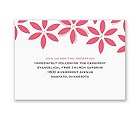 Little Posies - Reception Card