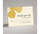 Fall Leaves - Response Card and Envelope