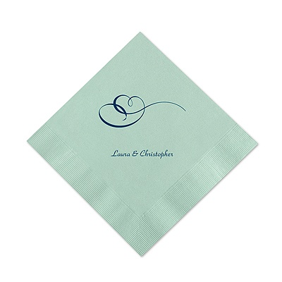 Sage Cocktail Napkin