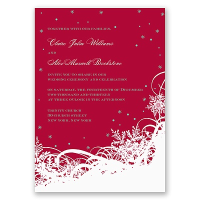 Snow-Covered - Invitation