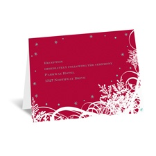 Snow-Covered - Reception Card