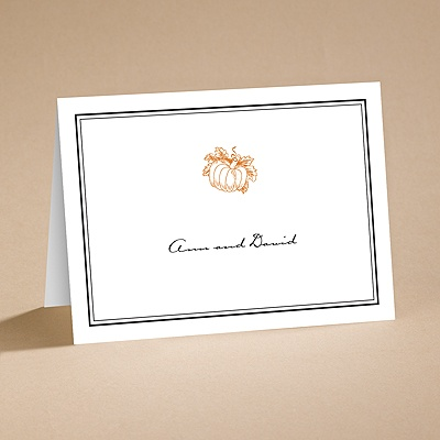Pumpkin Spice - Note Folder and Envelope
