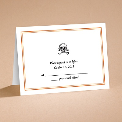Halloween Style - Respond Folder and Envelope