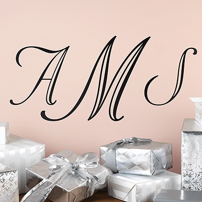 Monogram Wedding Art