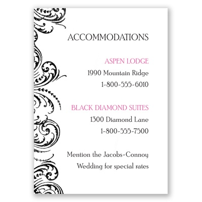 Heart Beats - Accommodations Card