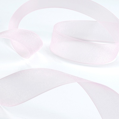 Sheer Ribbon - 25 Yards - Pink