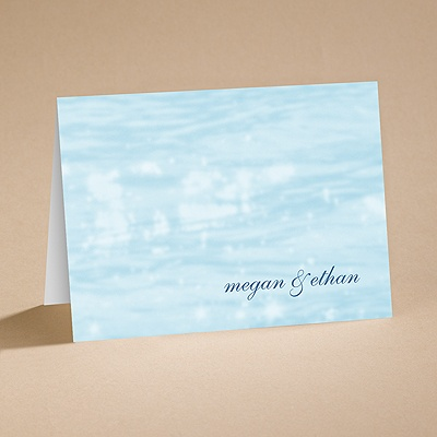 On the Water - Note Card and Envelope