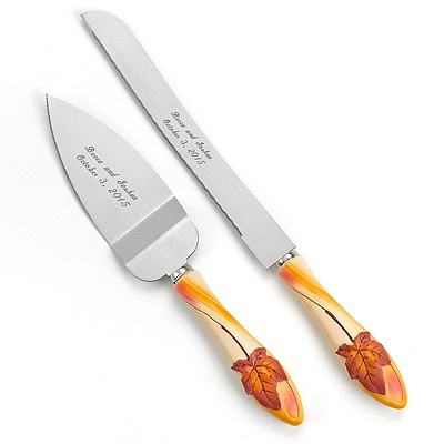 Simply Autumn Knife and Server Set
