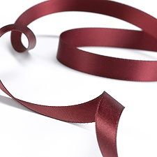 Satin Ribbon - 100 Yards - Burgundy