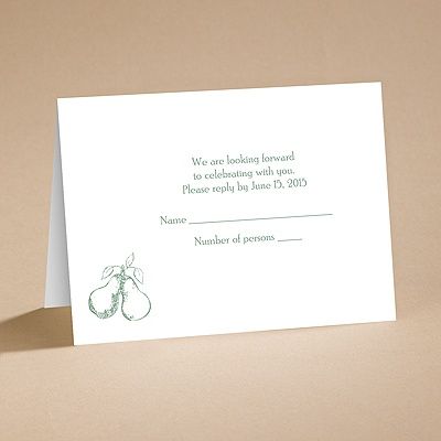 Perfect Pair - Respond Card and Envelope