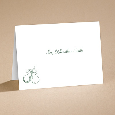 Perfect Pair - Note Card and Envelope