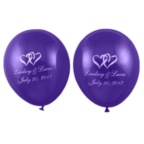 Purple Balloons - Personalized