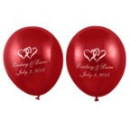 Red Balloons - Personalized