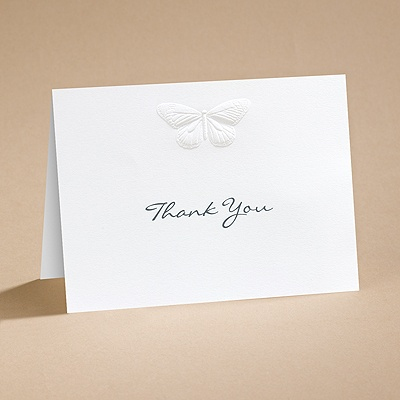Nature's Elegance - Thank You Card with Verse and Envelope