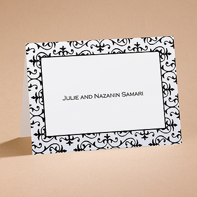 Dramatically Fashionable - Note Card and  Envelope