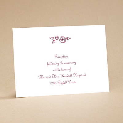 Whimsy - Reception Card