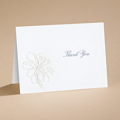 Lovely - Thank You Card with Verse and Envelope