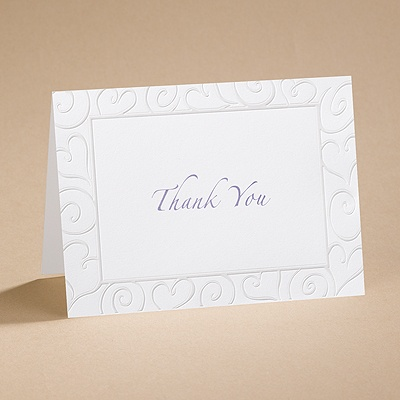 Pure Romance - Thank You Card with Verse and Envelope