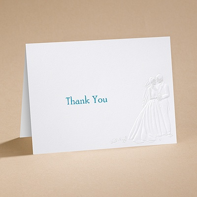 Meant to Be - Thank You Card with Verse and Envelope