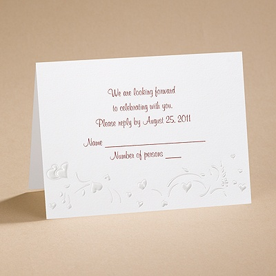 Carefree - Respond Card And Envelope