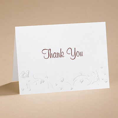 Carefree - Thank You Card And Envelope