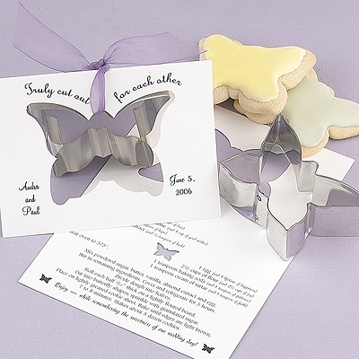 Wedding Cookie Cutters on Wedding Reception Accessories    Favors    Butterfly Cookie Cutter