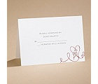 Heart To Heart - Respond Card and Envelope