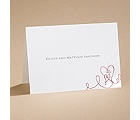 Heart To Heart - Note Card and Envelope