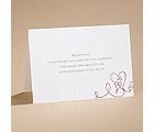 Heart To Heart - Reception Card