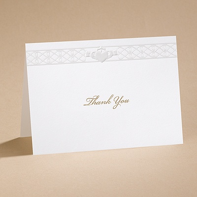 Eternal Promise - Thank You Card and Envelope