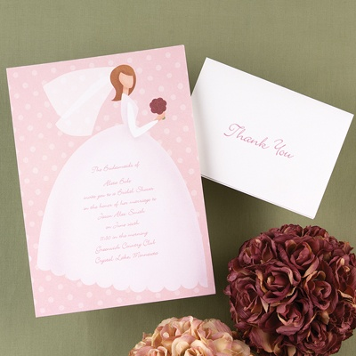 Bride to Be - Bridal Shower Invitation