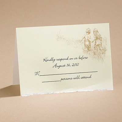 Walk Of Life - Respond Card And Envelope