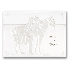 Western Wedding - Invitation
