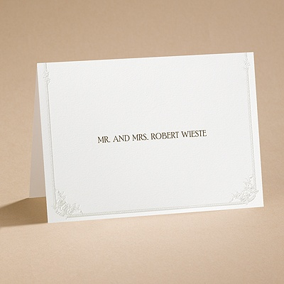 Western Wedding - Note Card and Envelope