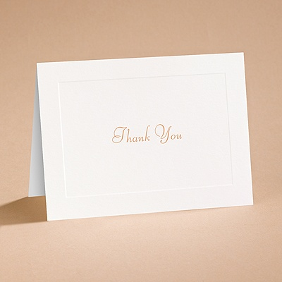 Fresh Start - Thank You Card with Verse and Envelope