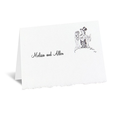 Playful Love - Note Card and Envelope