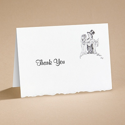 Playful Love - Thank You Card with Verse and Envelope