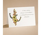Down Home Luck - Reception Card