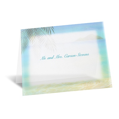 Paradise Found - Note Card and Envelope