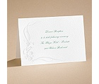 Love of a Lifetime - Reception card
