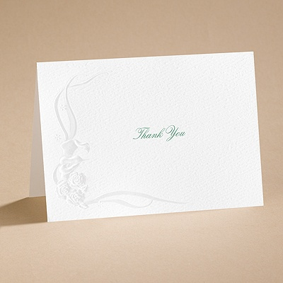 Love of a Lifetime - Thank you card (printed) and envelope
