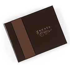 Chocolate Guest Book